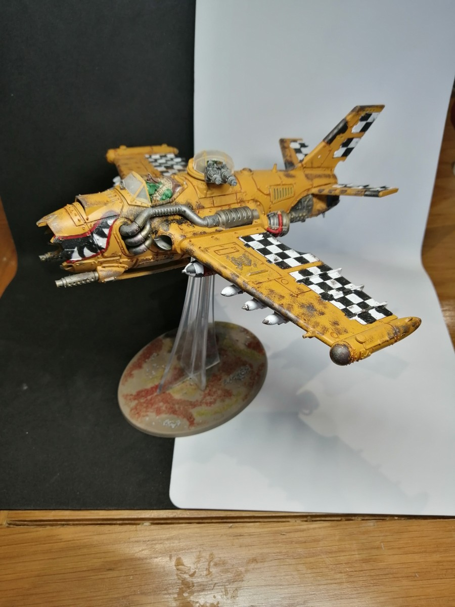 DakkaJet painted by Karl Righby