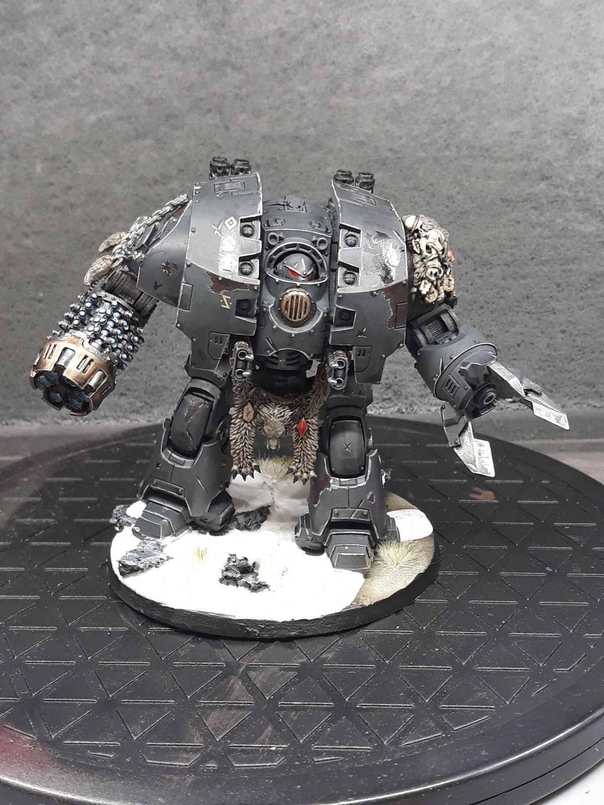 Dreadnought painted by Mystical Unicorn Painting