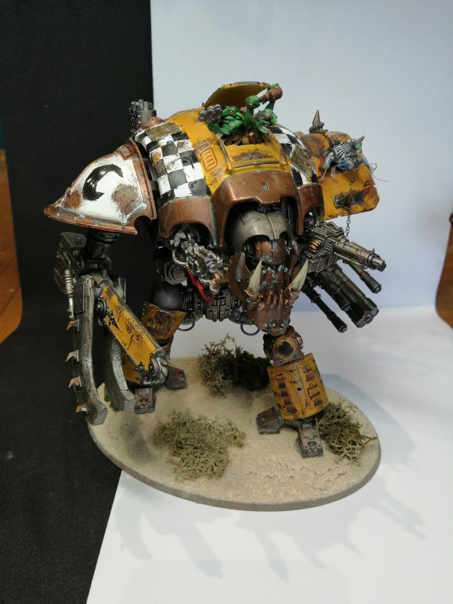 Looted Knight painted by Karl Righby