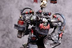 Ork Warboss painted by Adrian Cook