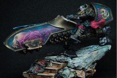 Custodes Jetbike painted using Water+ by Edo Kalkman