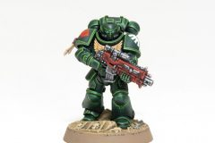 Dark Angel Primaris Marine painted by Gareth Etherington (Garfy from Tale of Painters)