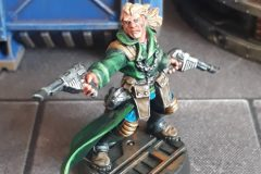 Kal Jerico painted by JewelKnightJess Miniature Painting