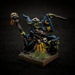 Mantic Games Vanguard Goblin by Oliver Ainger (Brutal Deluxe Painting) using Water+ to smooth paints and Varnish+ for sealing