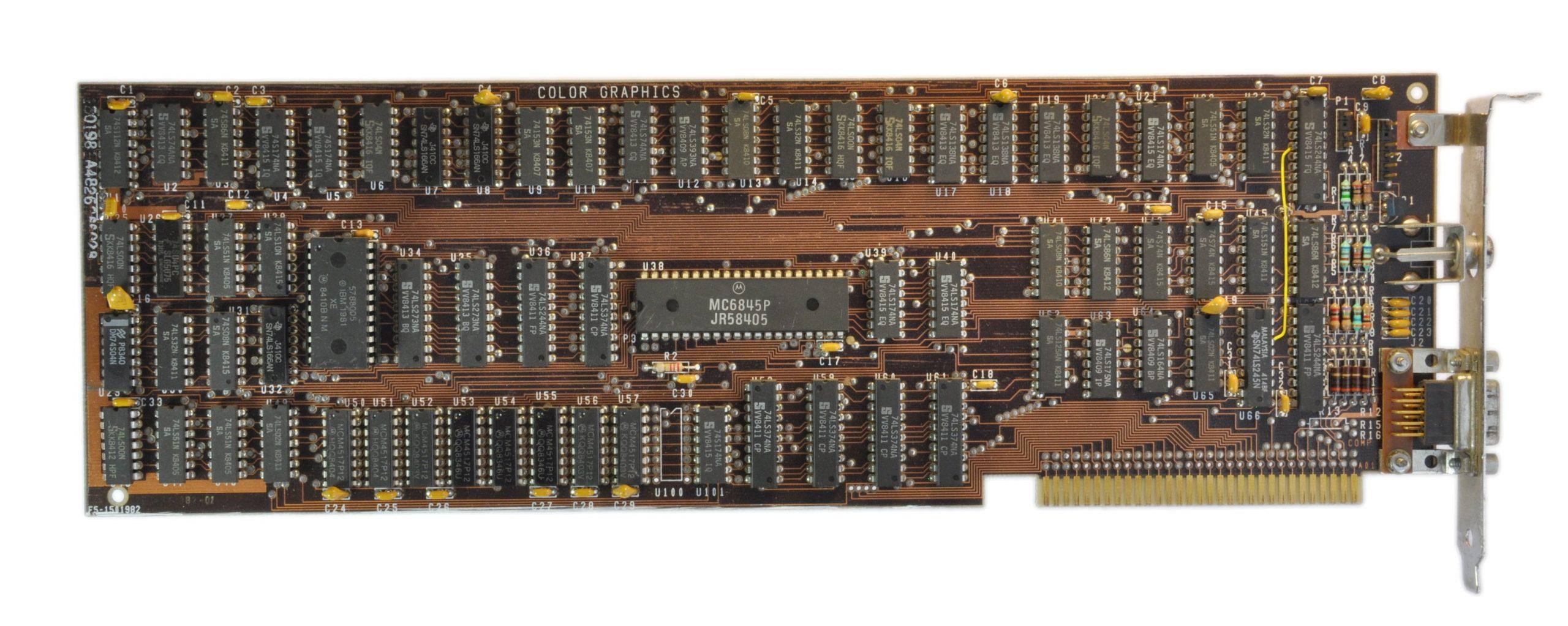 IBM CGA Card 1981